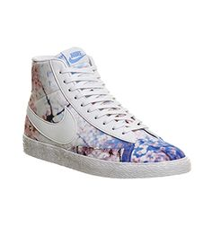 online store 0a9ca 050d9 Nike Blazer Mid White Black Cherry Blossom - Hers trainers