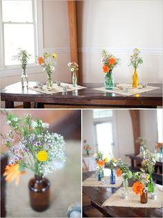 Chairished: Eclectic Mismatched Vases for Rent