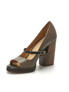 Dames Schoenen Feestschoenen, high heels Ellen Verbeek Bois en Taupe | June & Vic