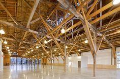 Wood framed warehouse - Vancouver Salt Co.