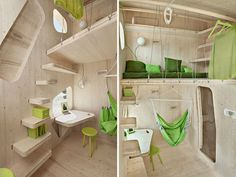 Smart student apartment by Swedish | roomie(ルーミー)