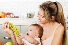 Grapes | Foods To Avoid While Breastfeeding Gassy Baby | Breastfeeding Diet For Gassy Baby | Breastfeeding Tips Newborn | http://babycared.com/foods-to-avoid-while-breastfeeding-gassy-baby/