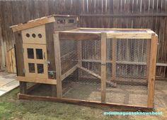 DIY Chicken Coop From Reclaimed Wood