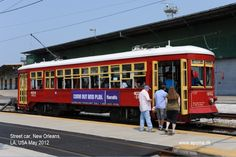 Street Car, New Orleans, LA, USA May 2012