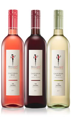 skinny girl wine... we all love our wine from time to time, I found one that has all the great taste without the calories... go ahead girls have that glass of wine and not feel guilty about the calories :)