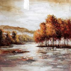 Yosemite Home Decor Revealed Art Natural Perspective I Original Painting on Canvas-Walmart.com $88.20 was $ 358