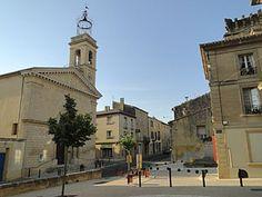 Beffroi, place Remoulins - Gard