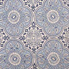#textile #fabrics #interiordesign Arboretum by Nina Cambell, Osborne & Little Madura Lapis :: John Robshaw