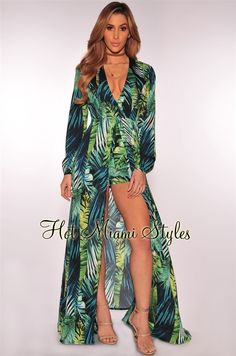 Ideas For Dress Nigth Wedding Honeymoons Luau Outfits, Outfits Fiesta, Dressy Outfits, Night Outfits, Havana Party, Havana Nights Party, Tropical Dress, Tropical Party Outfit, Maxi Romper