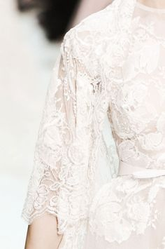 White lace via A Glamorous Little Side Project