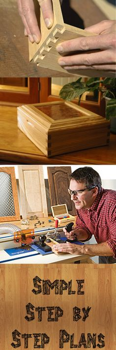 Easy 16,000 Simple step by step woodworking projects and plans!                                                                                                                                                      More