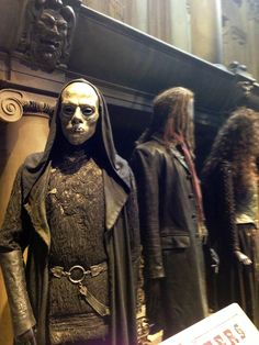 Harry Potter Death Eater costume. Even though it was only a costume, it still gave me chills!