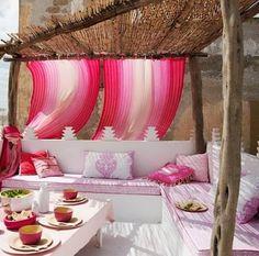techo de bamboo