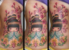 Kokeshi tattoo