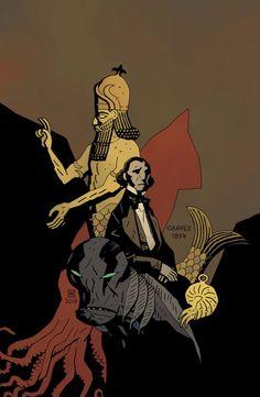 Abe Sapien #27 by Mike Mignola *