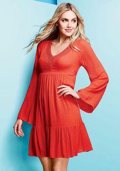 Daria Bell Sleeve Dress