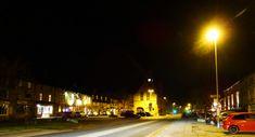 Moreton-in-Marsh by night