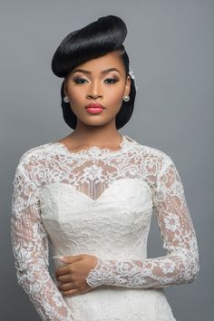 Best African Wedding is the biggest day of every womens life. But if you are not satisfied with you&; Best African Wedding is the biggest day of every womens life. But if you are not satisfied with you&; My Hairstyle, Afro Hairstyles, Bride Hairstyles, Hairstyles 2018, Black Hairstyles, Haircuts, Bridal Hair And Makeup, Wedding Makeup, Black Bridal Makeup