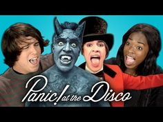 Teens React to Panic! At The Disco - YouTube <<< SCREAMING GUYS THIS IS MY FAVORITE BAND SO. YA. DEAD. ♡♡