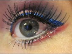 4th of July makeup