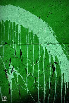 The Graffiti Wall in St. Louis, MO 4/24/14
