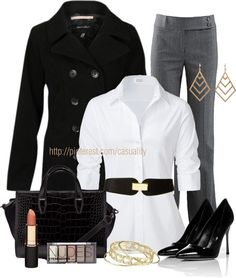 """""""Business Woman Attire"""" by casuality on Polyvore"""