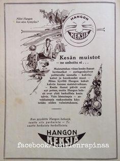 Hangon keksit - 1926