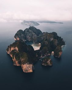 "22.5k Likes, 234 Comments - Rob Strok (@robstrok) on Instagram: ""Koh Phi Phi from above."""