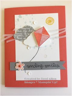 OnStage 2016 display sample, Stampin' Up! AC 2016 catalog sneak peek, Swirly Bird.