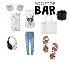 """""""Untitled #13"""" by eldina-salihovic ❤ liked on Polyvore featuring Levi's, Yves Saint Laurent, Saachi, Tory Burch, Christian Dior, Beats by Dr. Dre and casualoutfit"""