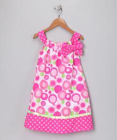 Pink Polka Dot Shift Dress - Girls. Love the color and pattern! http://www.zulily.com/p/pink-polka-dot-shift-dress-girls-18293-1292450.html?pos=1