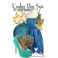 """""""Under the Sea"""" by lalakay on Polyvore"""