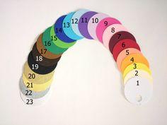 vzorník barev...