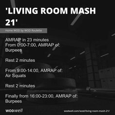 Crossfit Workouts At Home, Home Workout Men, Wod Workout, Air Squats, Burpees, Hiit, Cardio, Body Build, Weight Workouts