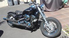 Yamaha 650 dragstar bobber