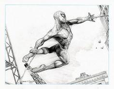 Spiderman Comic Art