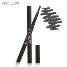 New Waterproof 3 Colors Eye Brow Eyeliner Eyebrow Pen Pencil with Brush Makeup Cosmetics Tools