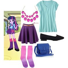Twilight Sparkle - Equestria girls - inspired outfit