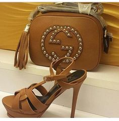 Gucci bag and Valentino shoes  by albazar.ae