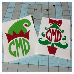 Christmas Monograms