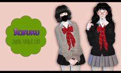 Seifukus for females at Zauma • Sims 4 Updates