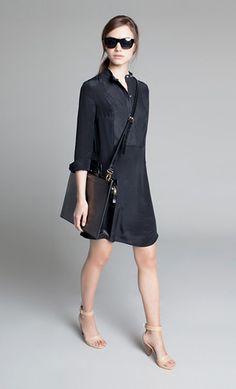 Emerson Fry - Black Shirt Dress