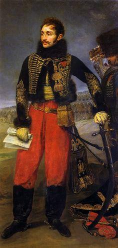 Antoine Charles Louis, (Metz 1775 - Wagram 1809) baron de Lasalle, puis général…
