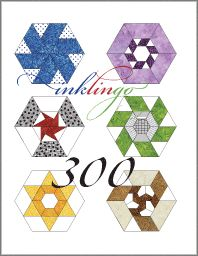 Crazy about Hexagons on Quilting Hub - This article explains the difference between EPP and sewing with a running stitch. http://www.quiltinghub.com/Resources/Articles/ctl/ViewArticle/mid/462/ArticleID/210