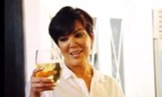 Kris Jenner celebrates National Drink Wine Day with a flashback photo