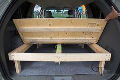 Dodge Grand Caravan Ausbau zum SleeperVan CamperVan