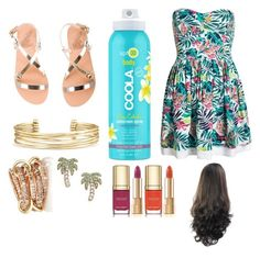 """Haiwain  aloha"" by miaaking on Polyvore featuring COOLA Suncare, Superdry, Ancient Greek Sandals, Stella & Dot, SPINELLI KILCOLLIN, Kate Spade and Dolce&Gabbana"