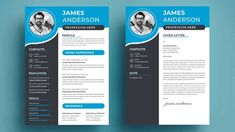 Pick one of our free modern resume templates when applying for a modern job opening. They are available for instant download and entirely editable download free a modern resume Resume Cover Letter Template, Letter Template Word, Modern Resume Template, Resume Templates, Job Opening, Printable Worksheets, Pick One, How To Apply, Lettering