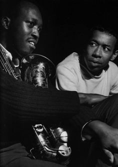 Hank Mobley & Lee Morgan // photo by Francis Wolff