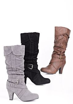 Cute boots for fall.
